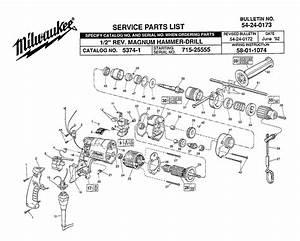 Milwaukee Magnum Drill Wiring Diagram
