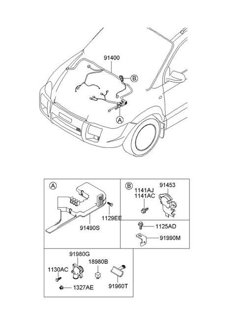 Hyundai Tucson Wiring Assembly Ecm Tcs Traction Ftcs