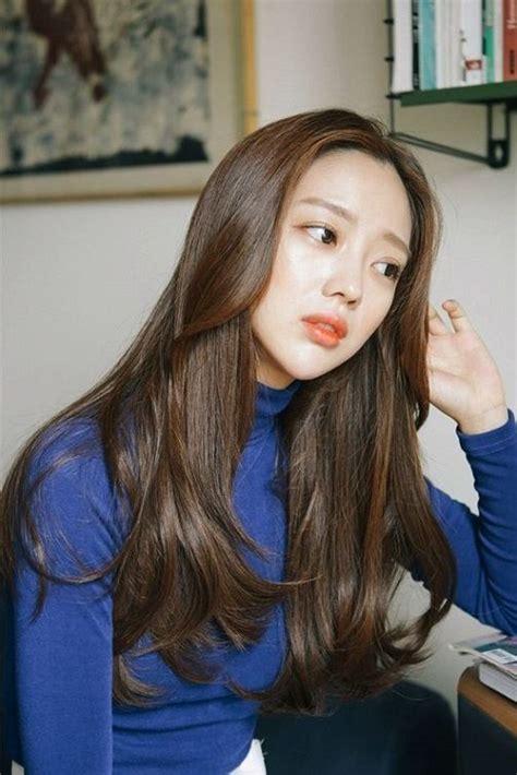 korean hair color ideas   korean hair color korean long hair long hair styles