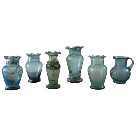 Mexican Glass Vases by Vintage Mexican Glass Vases For Sale At 1stdibs