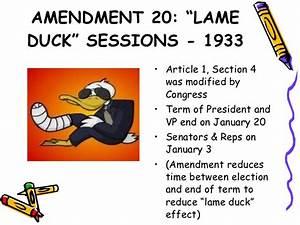 Chapter 3 the 27 amendments
