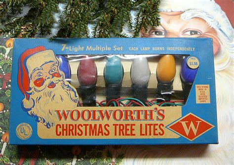 1950 s woolworths christmas tree light set flickr