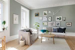 deco scandinave aux murs colores mariekke With idee deco cuisine avec lit type scandinave