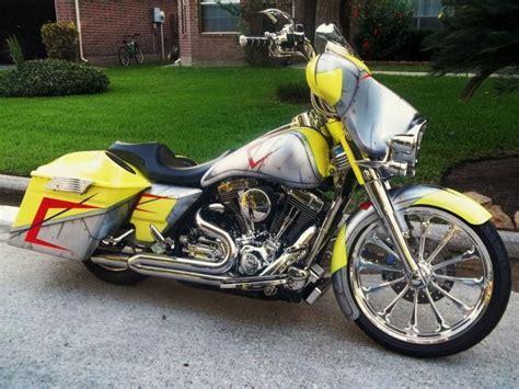 Custom Harley Davidson Bagger Hd Wallpapers