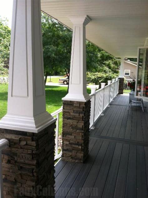 Decorative Front Porch Columns - best 25 columns ideas on porches