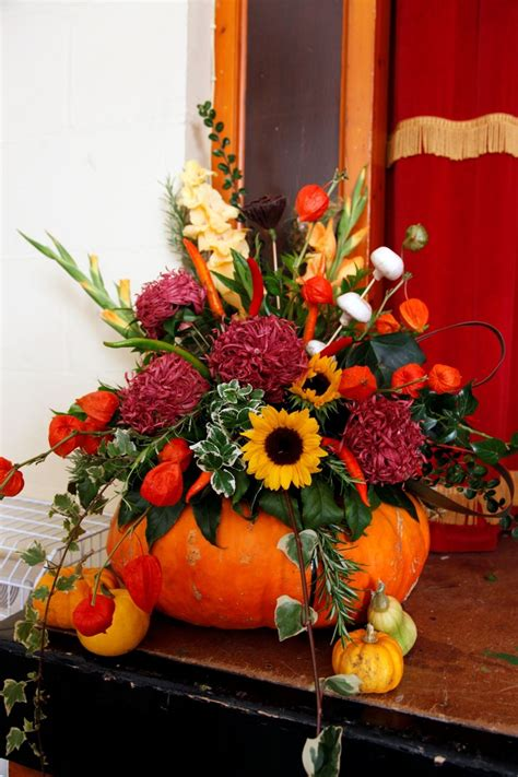 Autumn Wedding flowers one of my girls should have a