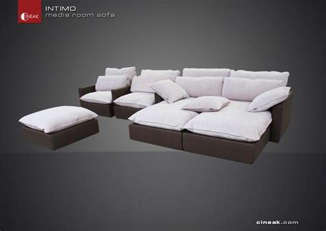 Luxury Media Room Sofas  Modern  Sectional Sofas Other