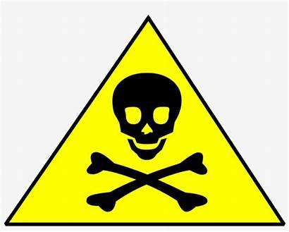 Chemical Toxic Warning Symbol Signs Clipart Skull