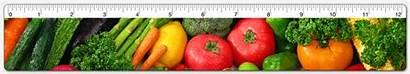 Ruler Vegetables Ru12 Animated Inch Veggies Gifs