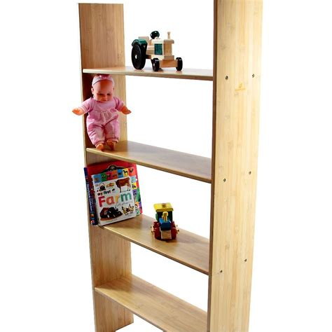 bunk bed shelf woodquail bamboo bunk bed clip on shelf 4 tiers