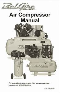 Belaire Air Compressor Manual