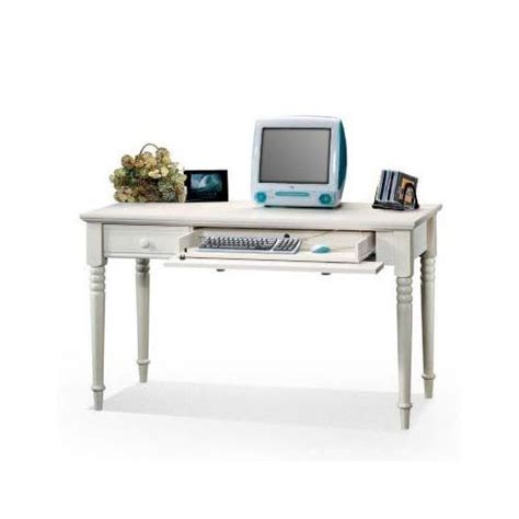 Sauder Harbor Desk Walmart by Sauder 8041 475 Harbor View Wood Writing Antiqued White