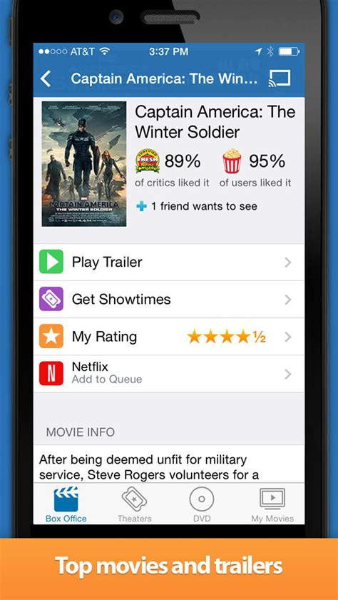 Flixster Movies App Gets AirPlay Support - iClarified