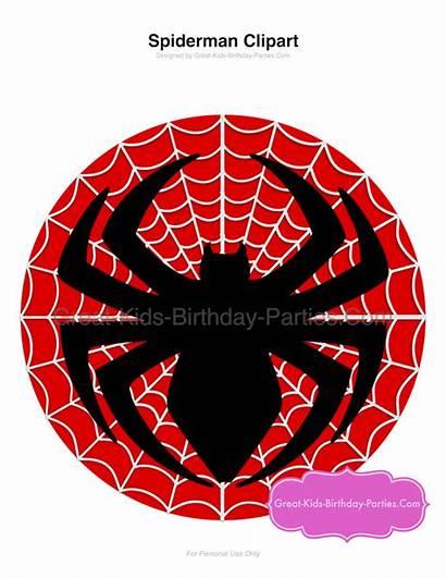 Birthday Superhero Spiderman Party Printables Parties Clipart