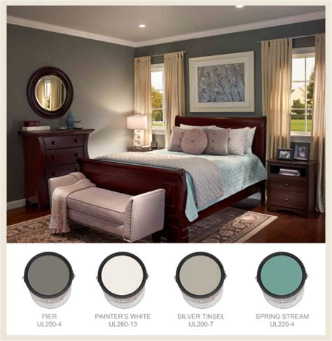 Colorfully, Behr  Restful Bedrooms