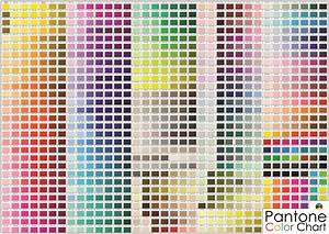 High Quality Pantone Color Chart