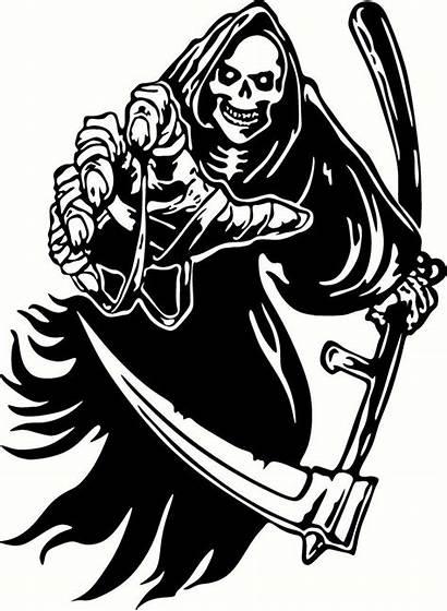Reaper Grim Vinyl Decal Sticker Decals Cut