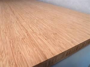 Arbeitsplatte kuchenarbeitsplatte massivholz bambus for Bambus arbeitsplatte