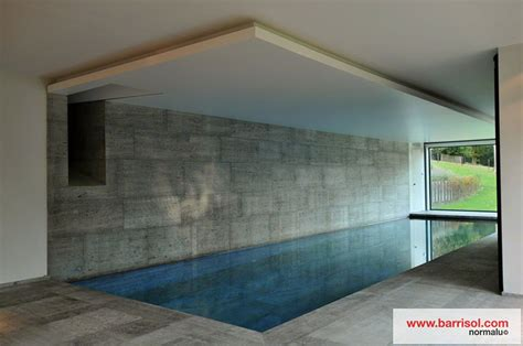 deco salon cuisine piscine le plafond tendu barrisol dans votre piscine