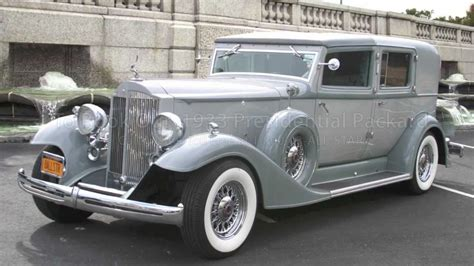 the presidential limo otherwise known the 1933 presidential packard by all limousine