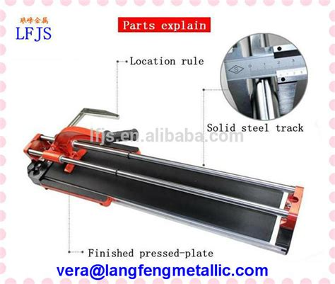 handheld tile cutter with carbide scoring wheel ceramic tile cutter with bearing titanium coated 22x6x6