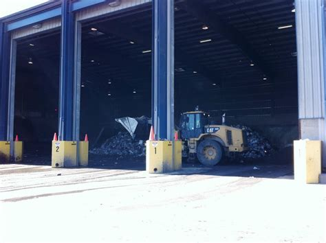 Escambia County Transfer Station, Tipping Floor   Rehab