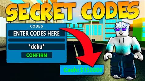 All New Secret Codes In Boku No Roblox Remastered