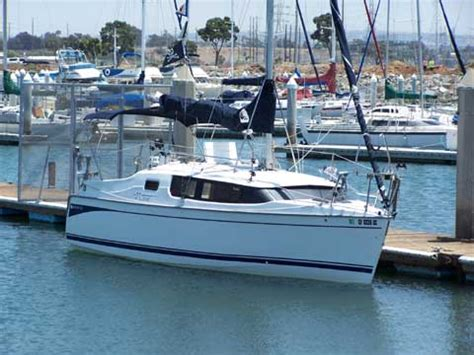 hunter edge   san diego california sailboat