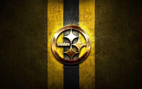 wallpapers pittsburgh steelers golden logo nfl