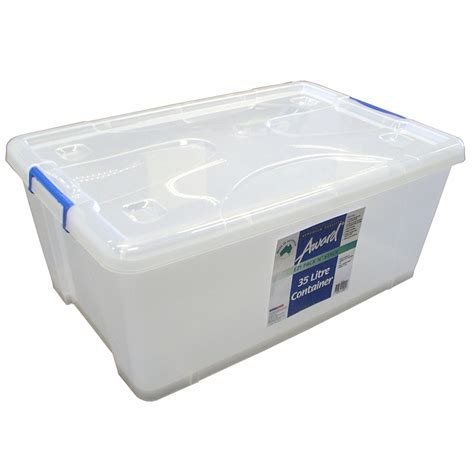 Award 35l Storage Container With Wheels  Bunnings Warehouse