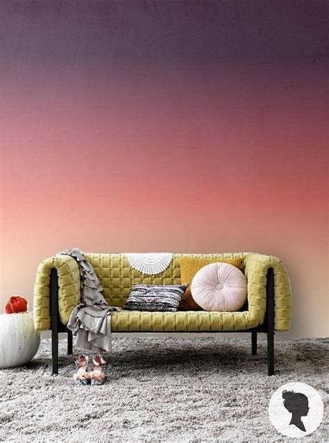 ombre wall inspiration images  pinterest ombre