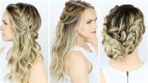 prom  wedding hairstyles     youtube