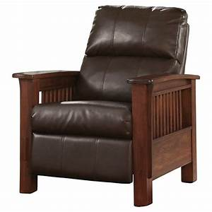 santa fe high leg recliner bark signature design by With ashley santa fe recliner