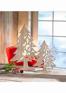 Nordische Weihnachtsdeko Online Shop : weihnachtsdeko tannenbaum aus holz 2 tlg set von bonprix ansehen ~ Bigdaddyawards.com Haus und Dekorationen