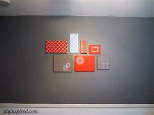 Shoe Box Lid Wall Art - DIY Inspired