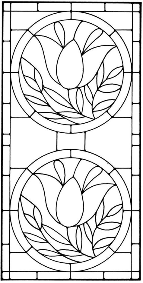 Floral Stained Glass Pattern Book | Stained Glass Designs | Stained glass, Stained glass quilt