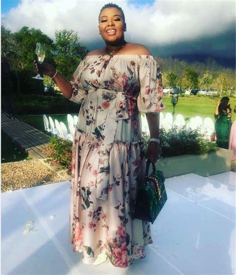 dressed celebs  minnie dlaminis wedding okmzansi