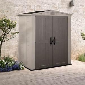 Gartenhaus 4 X 3 : keter gartenhaus factor 6x3 kunststoff ger tehaus ger teschuppen gartenschuppen ebay ~ Orissabook.com Haus und Dekorationen