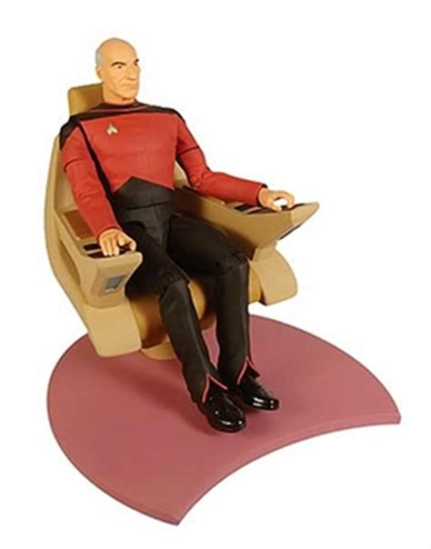 trek the next generation captain picard with