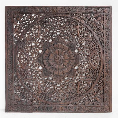 buy respectful floral wood plaque wall decor full size