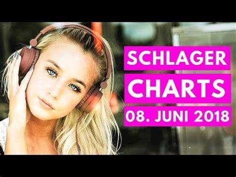 schlager charts  die top  vom  juni youtube