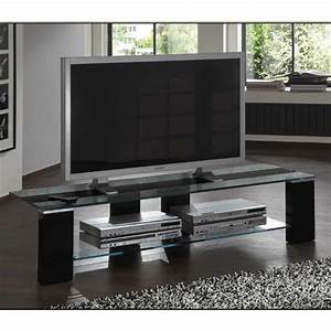 Tv Lowboard Glas : black glass lcd plasma tv stand shop for cheap vcr ~ Pilothousefishingboats.com Haus und Dekorationen