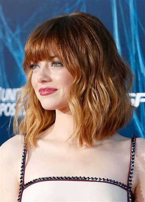Emma Stone. Red hair. Sombre Hair color   Hair   Pinterest