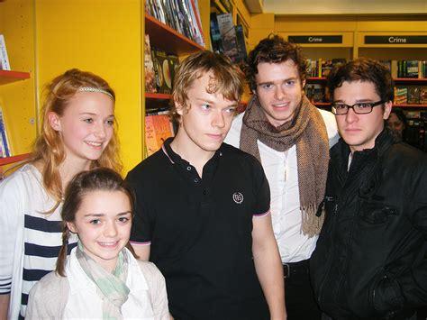 game  thrones young cast   actors