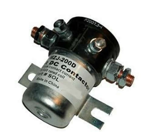 heavy duty golf cart volt  contactor solenoid ezgo