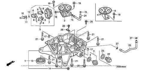 Honda Engines Gxv Exa Engine Jpn Vin Gjarm