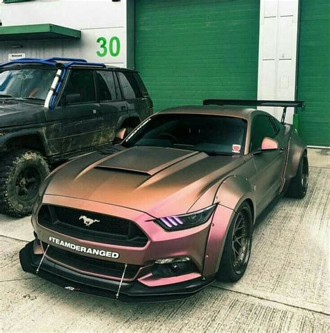 rose gold cars 17 best images about mustangs on pinterest