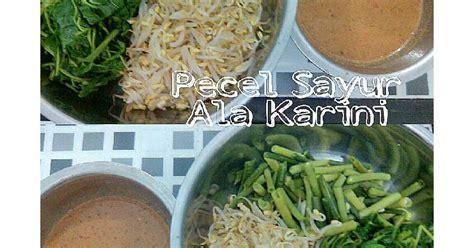 pecel sayur  resep cookpad