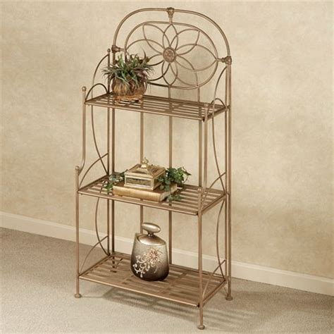Wrought Iron Etagere wrought iron indoor outdoor etagere