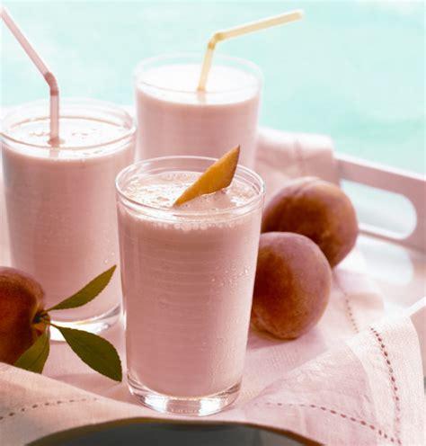Just Peachy Tickled Peach Milkshake Culinary Thymes